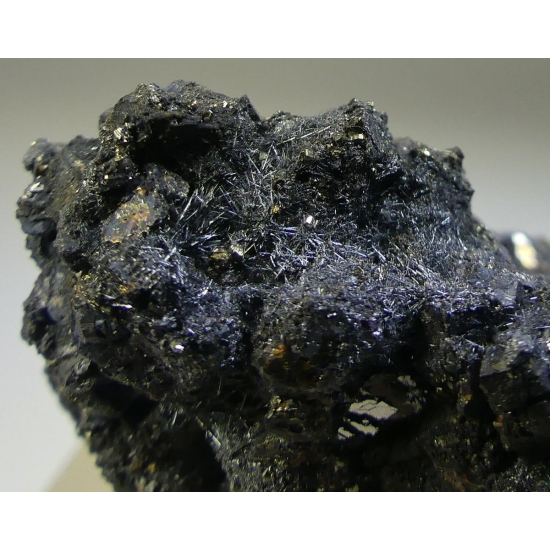Zinkenite On Galena & Sphalerite