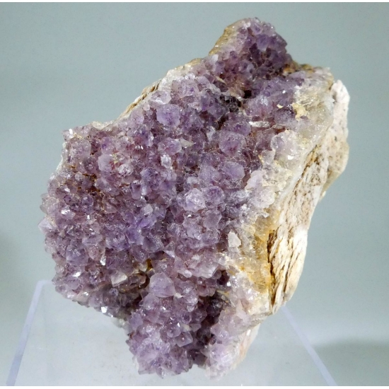 Amethyst On Baryte