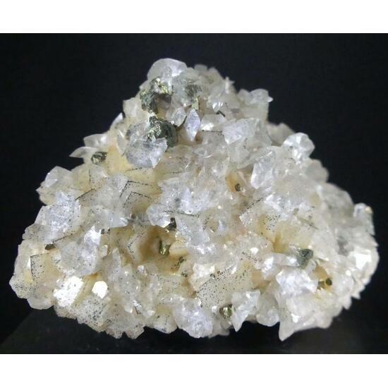 Chalcopyrite & Calcite On Dolomite Psm Calcite