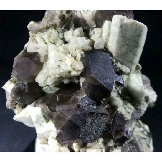 Microcline Arfvedsonite & Smoky Quartz