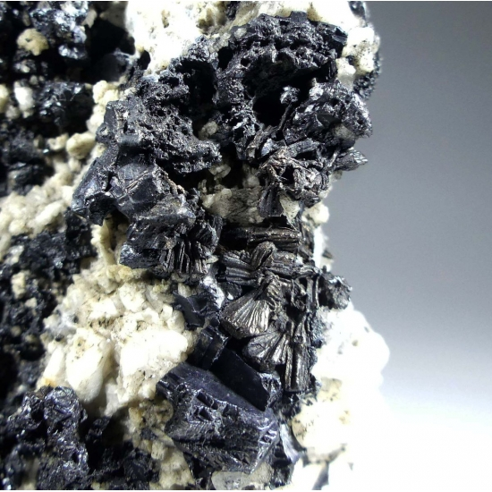 Native Silver Psm Dyscrasite With Acanthite On Galena