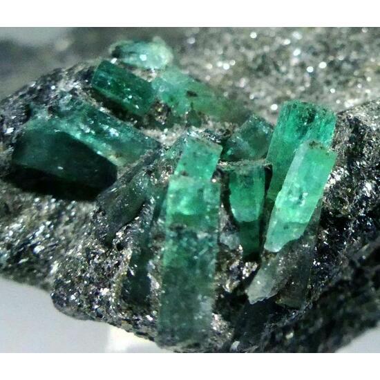 Emerald On Biotite
