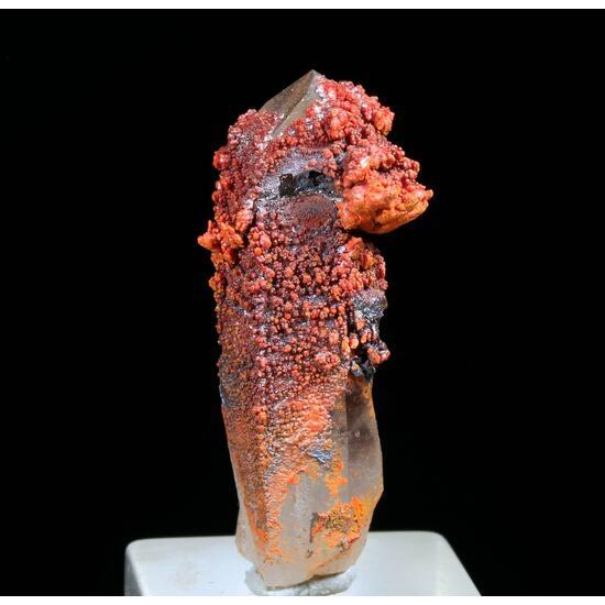Jeromite On Rock Crystal