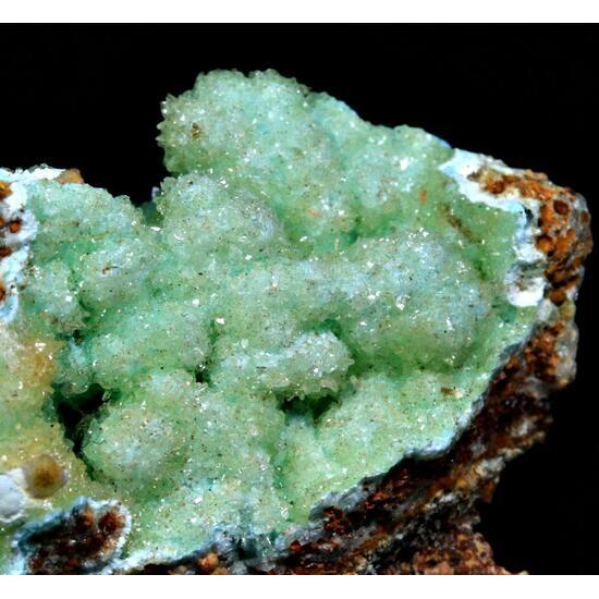Senegalite On Turquoise
