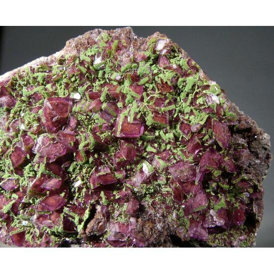 Kolwezite On Cobaltoan Dolomite