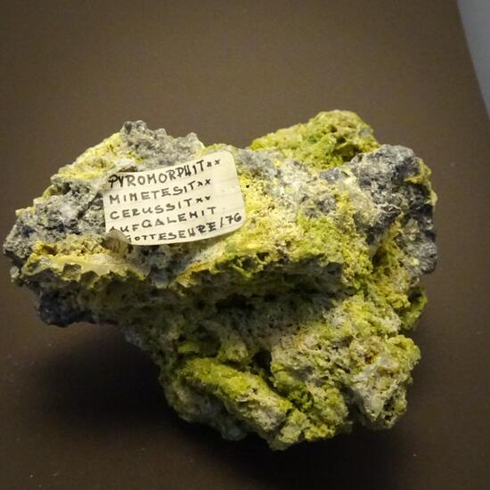 Pyromorphite Galena & Cerussite