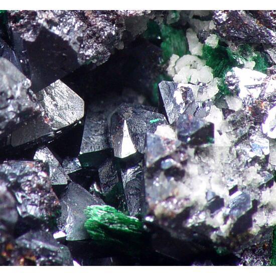 Brochantite & Cuprite