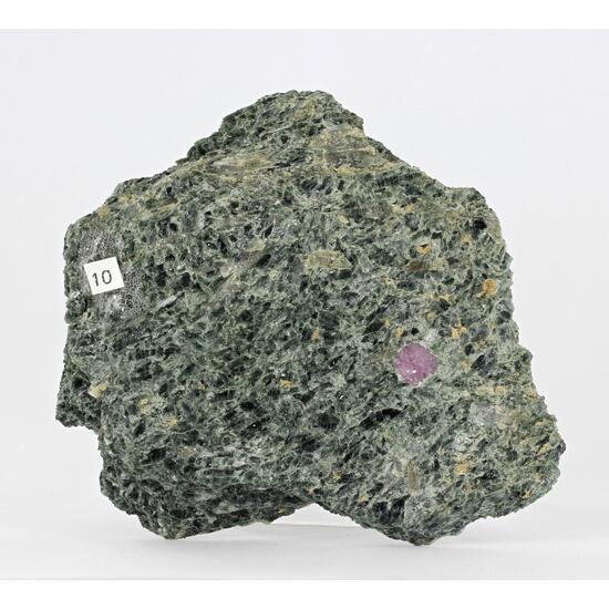 Ruby In Actinolite