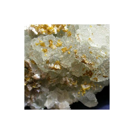 Fluorite With Wulfenite