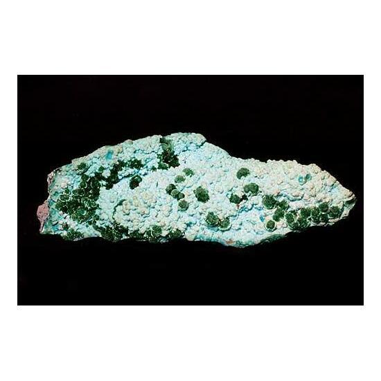 Chrysocolla With Malachite