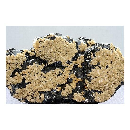 Ankerite On Sphalerite
