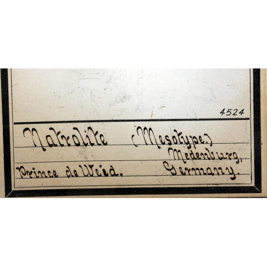 Natrolite Var Mésotype