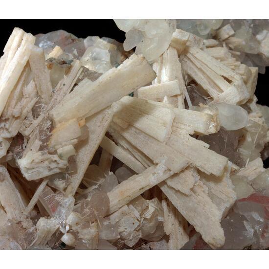 Quartz Psm Anhydrite & Calcite
