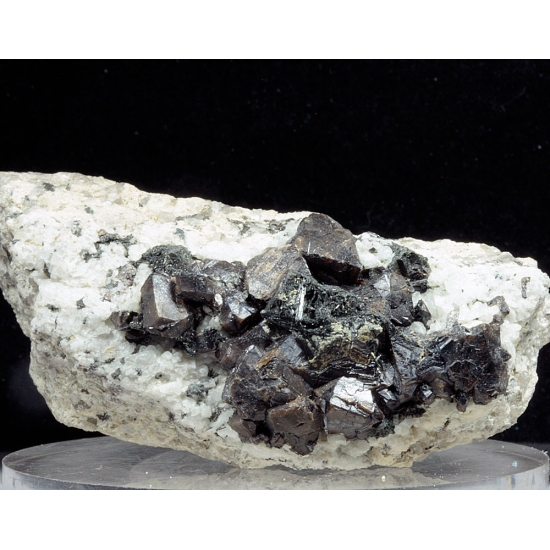 Cassiterite With Topaz