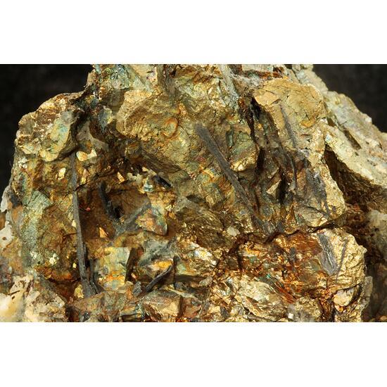Bismuthinite & Chalcopyrite