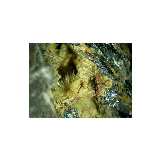 Klebelsbergite With Coquandite