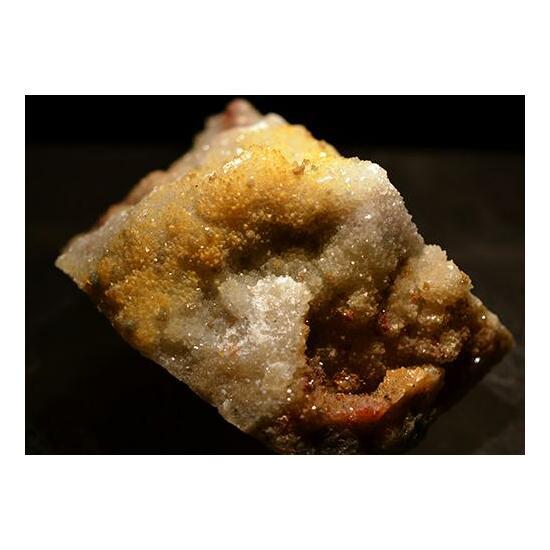Scorodite Bariopharmacosiderite & Quartz