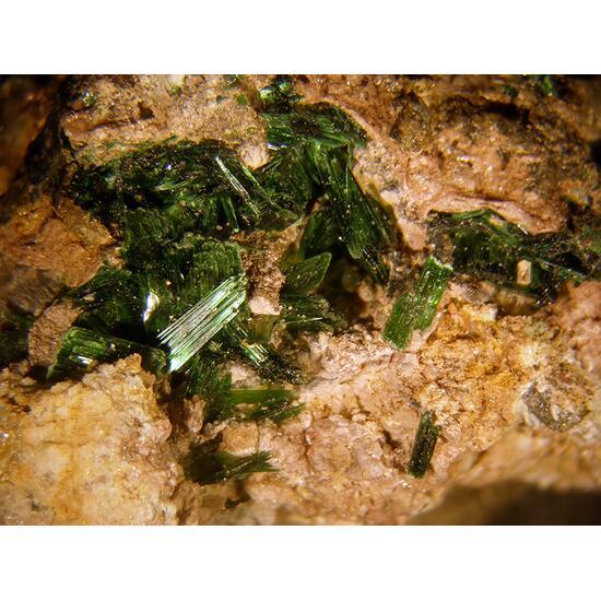 Szenicsite & Powellite