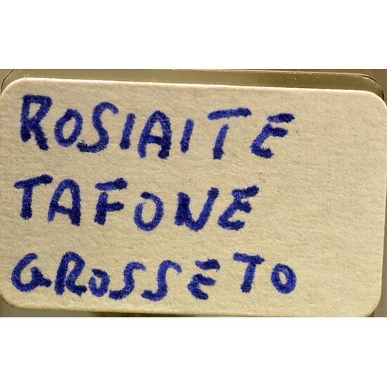 Rosiaite & Cervantite