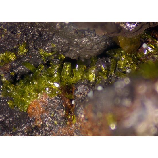 Molybdofornacite Wulfenite & Malachite