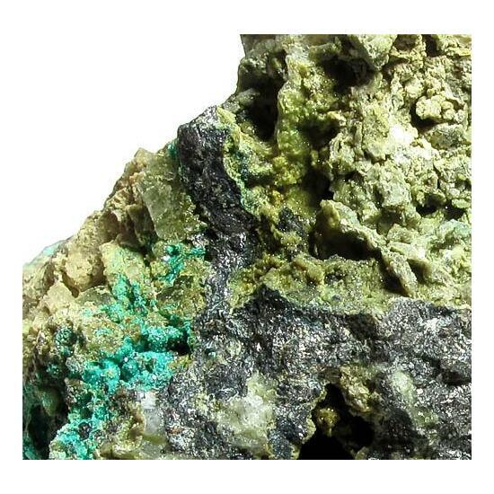 Chalcophyllite & Pharmacosiderite