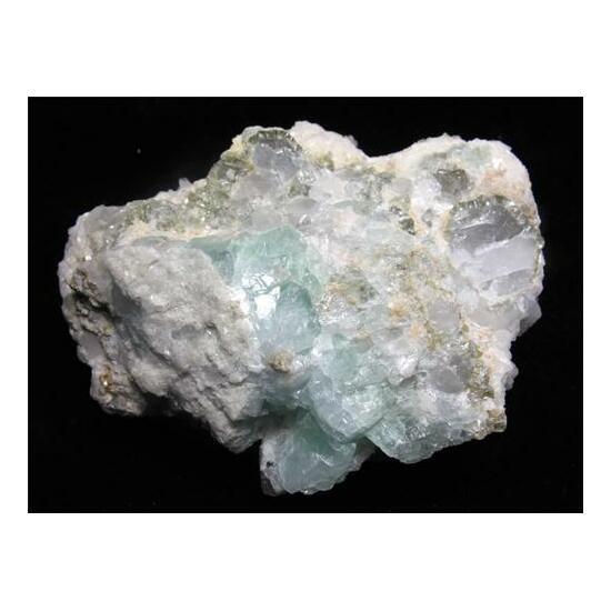 Fluorite Calcite & Pyrite