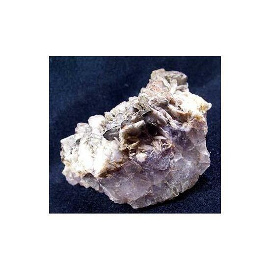 Baryte Pyrite & Fluorite
