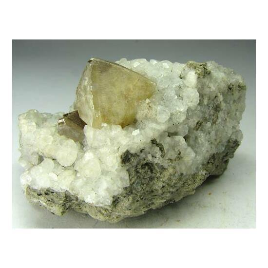 Calcite & Analcime
