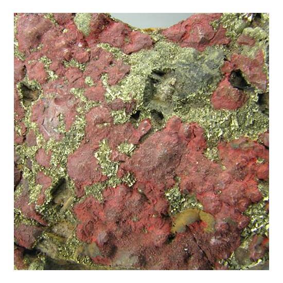 Cinnabar & Pyrite