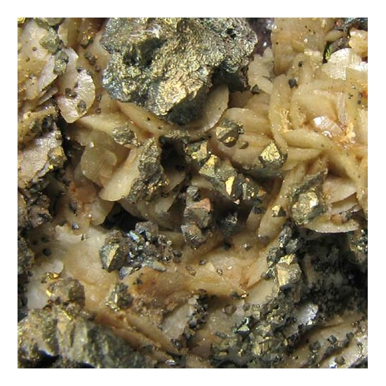 Chalcopyrite Siderite Dolomite & Quartz