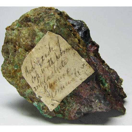 Cuprite & Malachite