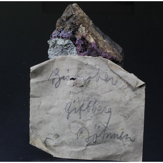 Cinnabar Pyrite & Siderite