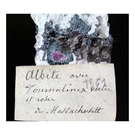 Elbaite & Cleavelandite