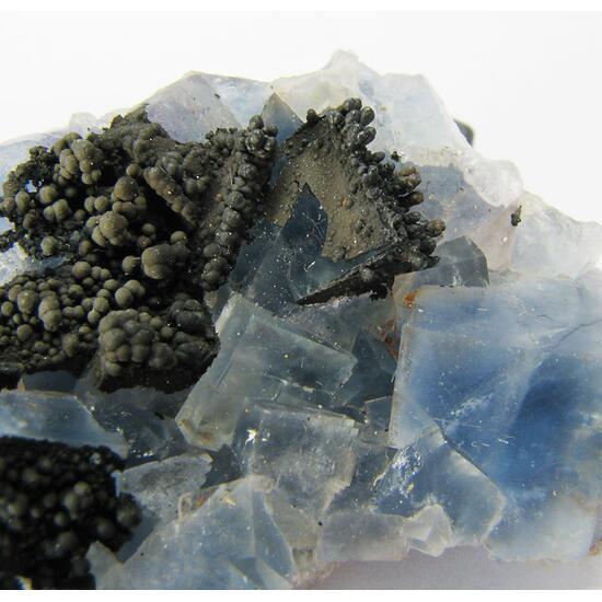 Fluorite & Manganomelane