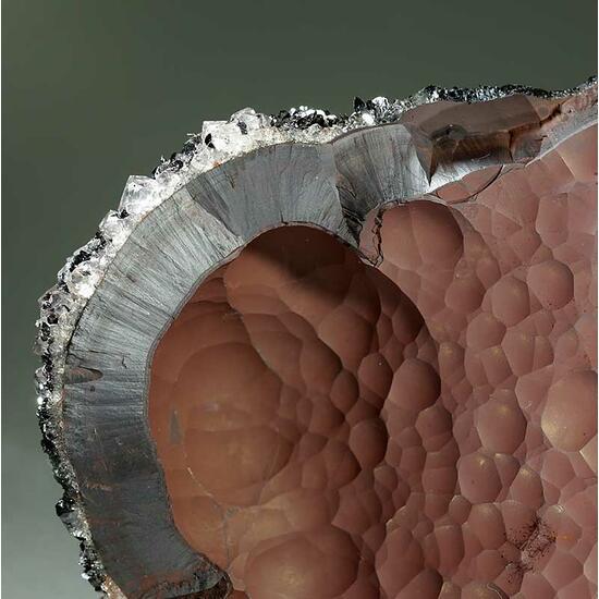 Hematite Var Kidney Ore & Hematite Var Specularite