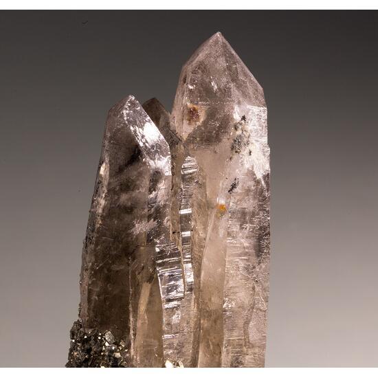 Smoky Quartz & Pyrite