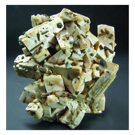Microcline & Magnetite