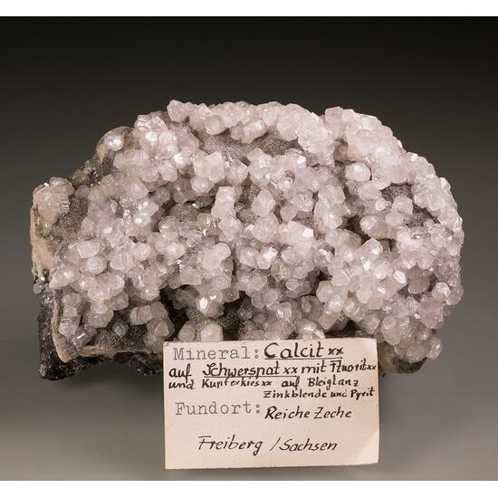 Calcite Baryte Fluorite & Sphalerite