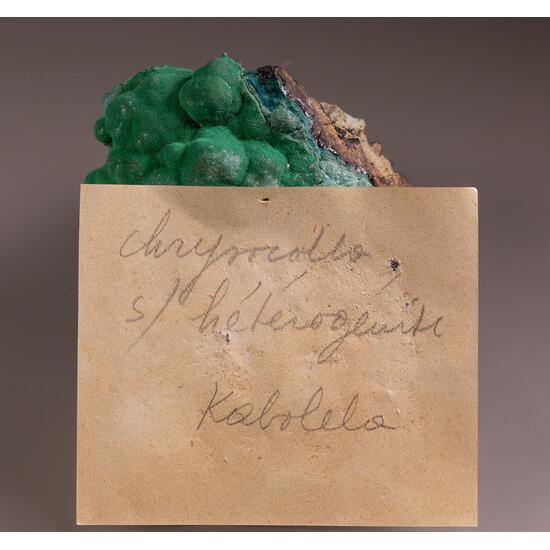 Chrysocolla Malachite & Heterogenite