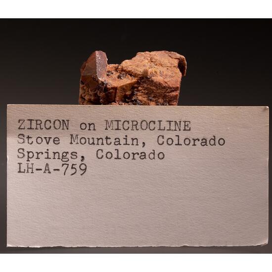 Zircon & Microcline