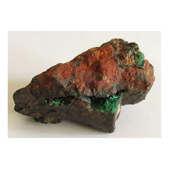 Brochantite On Cuprite