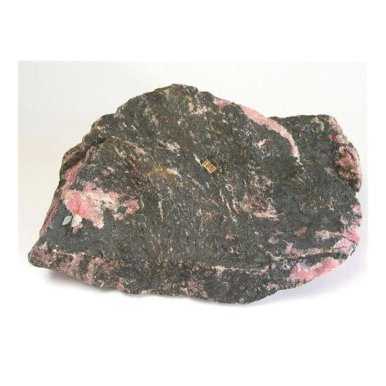 Rhodonite With Vernadite