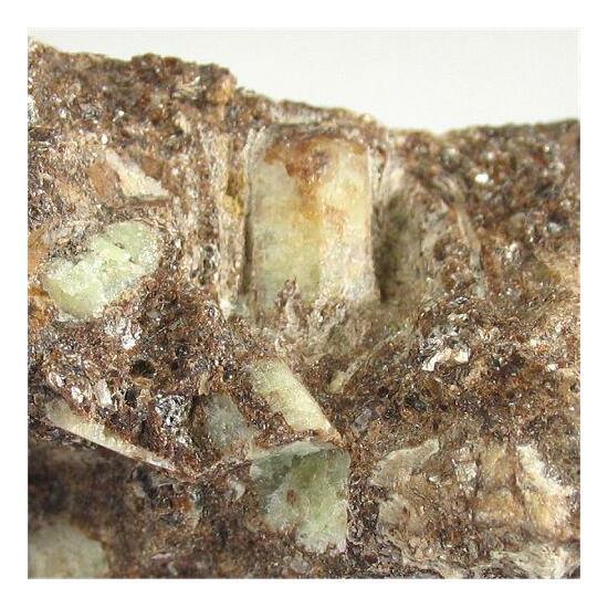 Willemite With Biotite & Andradite