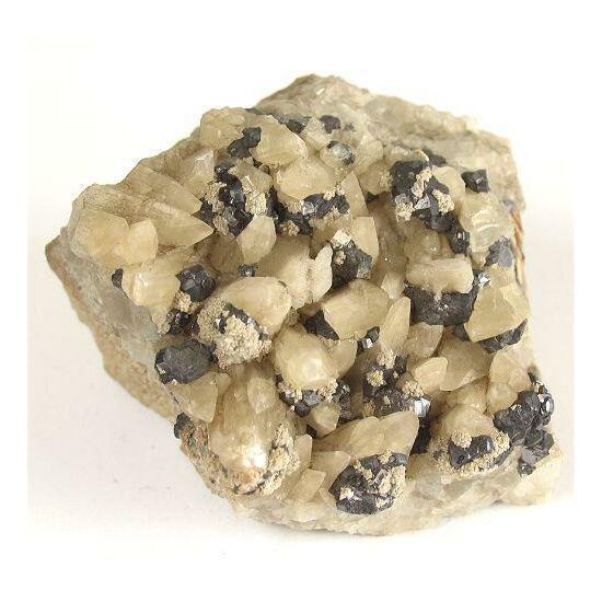 Calcite Galena Sphalerite & Fluorite
