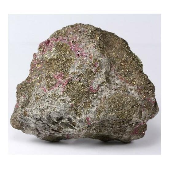 Cinnabar With Pyrite
