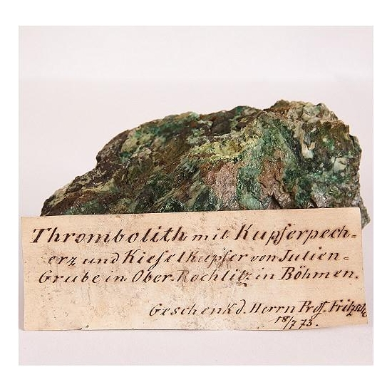 Pseudomalachite Var Thrombolite
