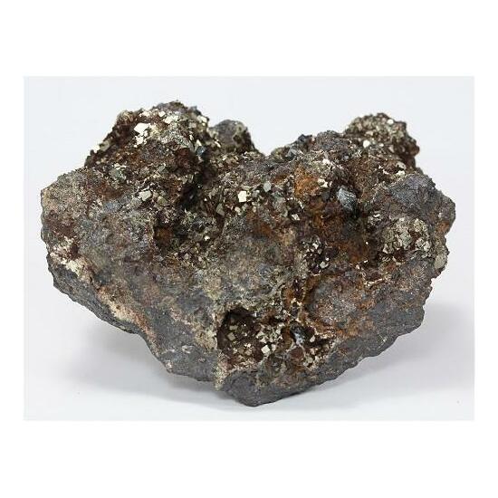 Pyrite With Hematite