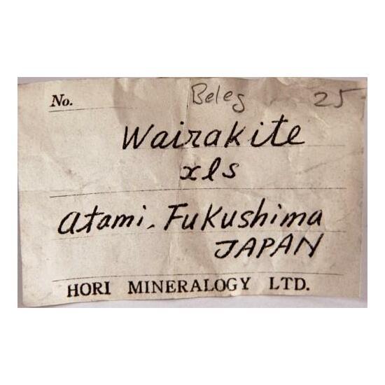 Wairakite With Calcite & Analcime