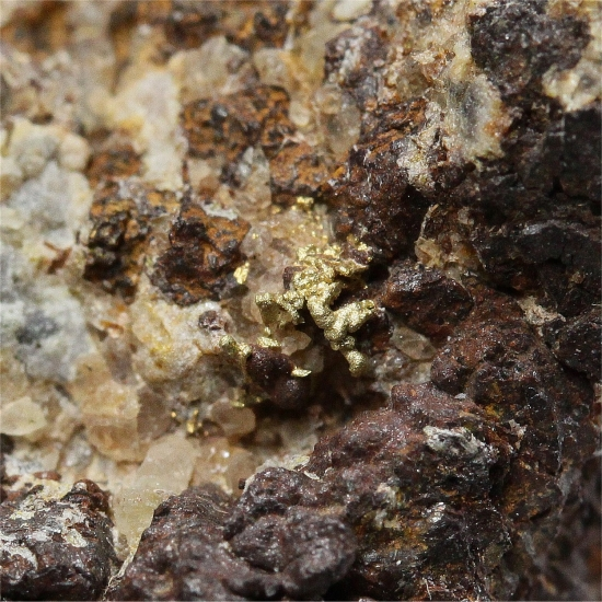 Gold With Galena