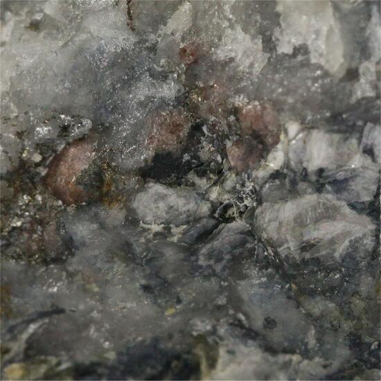 Graftonite With Almandine & Vivianite